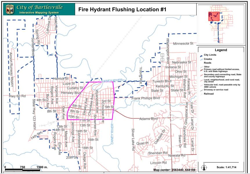 Bartlesville Radio » News » Fire Hydrant Flushing To Begin April on